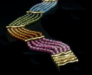 2. Gemstone Bracelet